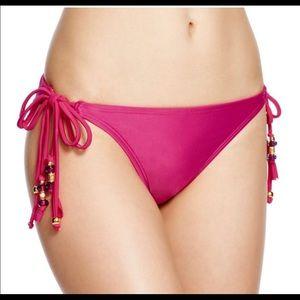 PilyQDahika double tie bikini bottom NWT Medium